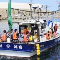 ホンモノ漁師が案内する 越前海岸漁船クルージング