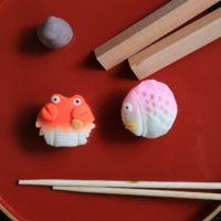 """老舗和菓子屋さんで習う """"越前のさかな""""生菓子づくり体験"""